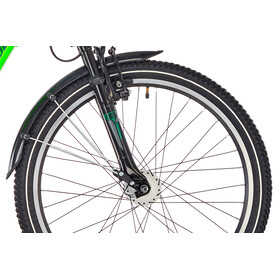 s'cool XXlite 24 21-S - Vélo enfant - steel vert